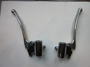 VINTAGE Ducati Benelli Laverda Parilla   TOMASELLI BRAKE AND CLUTCH  LEVERS