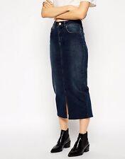 Denim Casual Skirts ASOS for Women