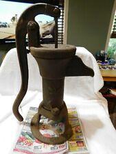 Rare Antique Cast Iron Hand Well Water Pump NO 2 The Gould's Seneca Falls N.Y.