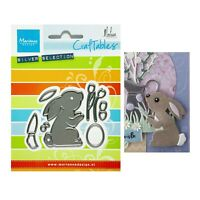 Universal Die Cut Tool Thin Metal Emboss Easter 5 Egg 1 Bunny Rabbit Basket Hunt