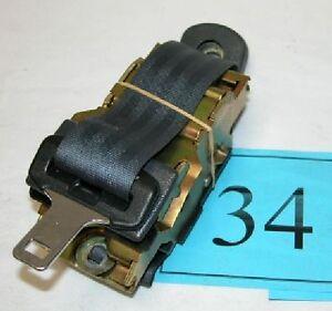 93-95 Camaro Firebird Dark Graphite Gray Passenger Front Seat Belt Retractor #34