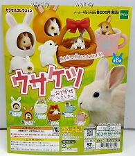 Miniature Rabbit I Ran Out Of A Scam, 6pcs + Display Card - Epoch  , h#11ok