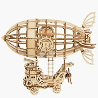 Rolife 3D Wooden Puzzle Airship Assembly Puzzle Model Building Kit Toy