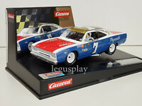 Slot Car Scalextric Carrera Evolution 27641 Plymouth Road Runner #7