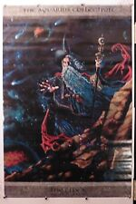"The Wizard Myles Pinkney vintage poster The Aquarius Collection 24.25"" X 36.50"""