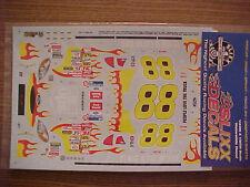 NEW 2001 DALE JARRETT #88 UPS FLAMES 1/24 -1/25 SCALE SLIXX  WATER SLIDE DECAL
