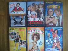 Will Ferrell 6 DVD lot