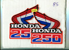 CR 250 CR250 RF 1985 Rad Decals Graphics Stickers