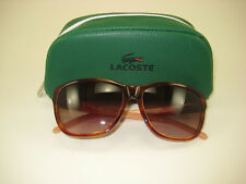 30683ac54d6d Lacoste Sunglasses L658S Light Havana 218 Brand New Demo! 100% Authentic  Genuine