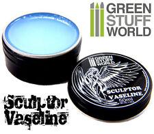 Sculptor VASELINE blue Petroleum Jelly for Scultors Sculpting tools Clay Shapers
