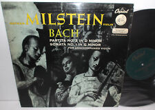 CCL 7526 Bach Partita No.2 &Sonata No.1 For Unaccompanied Violin Nathan Milstein