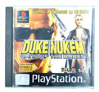 Jeu PS1 Duke Nukem land of the babes Sony Playstation 1 PAL FRA