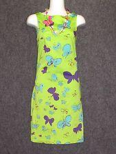 GIANNI VERSACE VERSUS Colorful Butterfly Pattern Sleeveless DRESS SZ 26/40