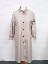 Womens Vintage Nauge Rain Mac/Trench Coat - Uk14 - Great Condition