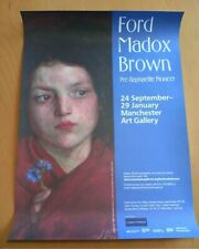 Irish Girl Ford Maddox Brown Pre-Raphaelite Pioneer Exhibition Poster NEW