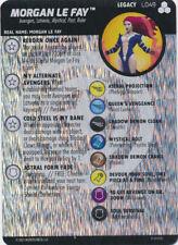 Super Rare figure! Heroclix Critical Mass set Morgan Le Fay #090 Unique