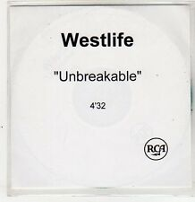 (ER390) Westlife, Unbreakable - DJ CD