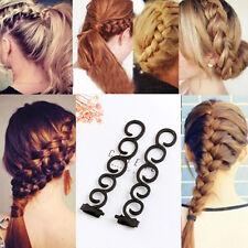 Color Random Trendy Styling Accessories Hair Braider Weave Braiding Tool Hook