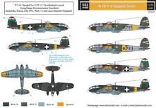 SBS Model 1/72 Heinkel He-111 in Hungarian service decal D72023