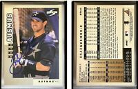 Brad Ausmus Signed 1998 Score Rookie Traded #101 Card Houston Astros Autograph