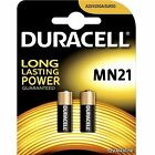 2 MN21 DURACELL Battery 12V Batteries MN 21 23A A23 GP23 LRV08 K23A E23A BLISTER