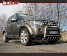LAND ROVER DISCOVERY IV 2009+ BULL BAR WITH AXLE BARS - STAINLESS STEEL!!