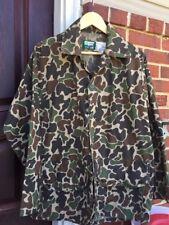 Vintage SAFTBAK Lightweights Hunting Camouflage Shirt Jacket.