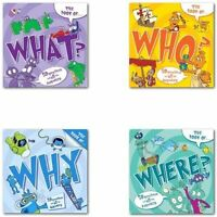 The Book of ... Collection Why, Where, Who and What 4 Books pack Set Brand New