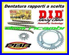 Kit Trasmissione KTM 990 ADVENTURE-R 09 catena corona pignone PBR DID VX 2009