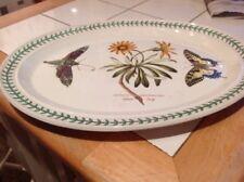 Port Meirion Botanic Garden Butterfly Oval Serving Platter 15x11 Ins