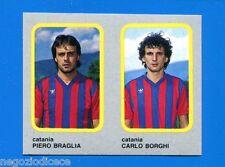 CALCIO FLASH '86 Lampo - Figurina-Sticker n. 357 - BRAGLIA-BORGHI -CATANIA-New