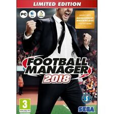 SEGA Limited Edition Football Manager 2018 Game PC DVD