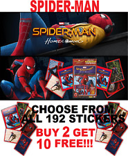 """Panini SPIDERMAN HOMECOMING STICKERS """"BUY 2 GET 10  FREE!!"""" FREE 1ST CLASS POST"""
