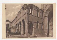 Fountains Abbey Church From High Altar Yorkshire Vintage Postcard 385a