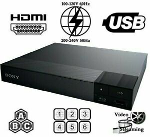 NEW SONY S1700 REGION FREE BLU RAY PLAYER MULTI ZONE ALL REGION CODEFREE