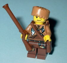 HISTORICAL Lego Davy Crockett NEW Custom Folk Hero Genuine Lego Parts