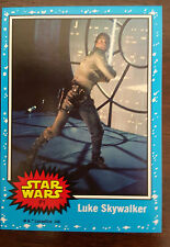 2015 SDCC COMIC CON TOPPS STAR WARS PROMO CARD LUKE SKYWALKER # P1 1977 STYLE