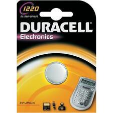 1 pila batteria CR1220 CR 1220 DL1220 DURACELL 3V Litio 1220 spediz tracciata
