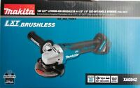 "NEW IN BOX Makita XAG04Z 18V Cordless Brushless Battery 4.5 - 5"" Grinder 18 Volt"
