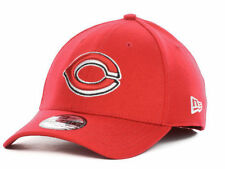 Cincinnati Reds New Era MLB 39THIRTY Men's Fitted Cap Hat - Size: S/M