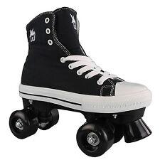 Rookie Rollerskates Canvas High Kids Ladies -roller Skates Quad Skates