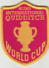 PARCHE HARRY POTTER 422nd INTERNATIONAL QUIDDITCH WORLD CUP  PATCH