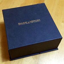 Baume & Mercier Orologio Box Scatola Hampton Classima Capeland Baumatic Milleis OEM