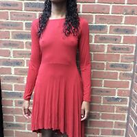 Urban Outfitters Burnt Orange Dress Size XS 6uk/8uk Sparkle And Fade