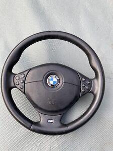 BMW E39/E38/E36 M5 Lenkrad Multifunktion Leder KOMPLETT Facelift