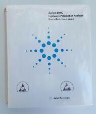 Agilent 8509C Lightwave Polarization Analyzer User's Reference Guide