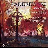 Paderewski: Piano Sonata Op. 21; Variations & Fugues Opp 11 & 23 (CD 2007)
