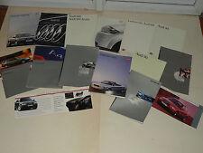 Lot 15 catalogue Auto AUDI V8 A4 A6 Quattro 80 90 100 car  brochure prospekt