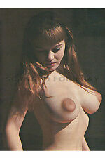Michelle Angelo nude art print woman female busty breasts model photo picture W