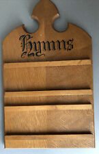 Antique/Vintage Small Hymn Board for Two Hymns. Approx Size 42 x 25cm.